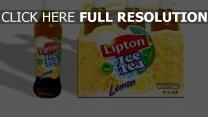 lipton ice tea trinken tee zitrone frisch