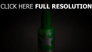 heineken bier alkohol flasche grün