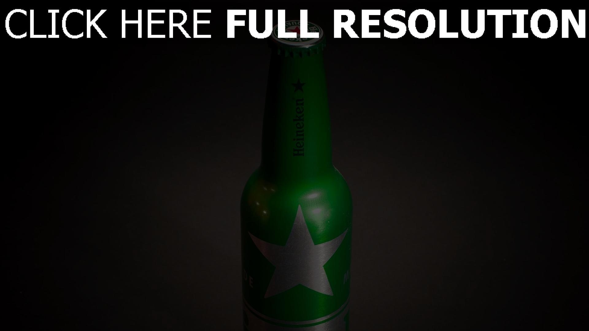 hd hintergrundbilder heineken bier alkohol flasche grün 1920x1080