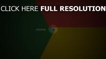 chrome logo rot gelb grün