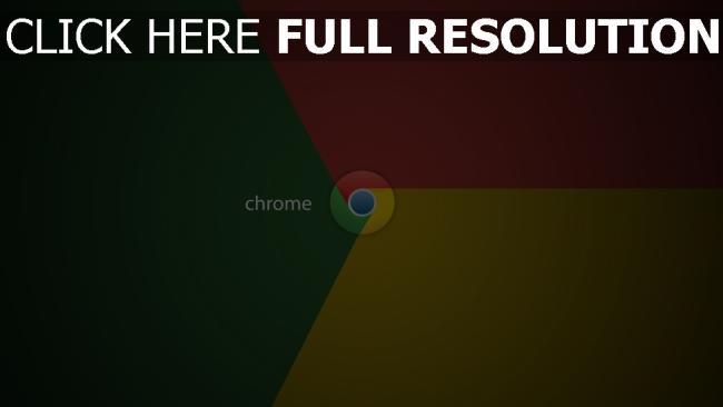 hd hintergrundbilder chrome logo rot gelb grün