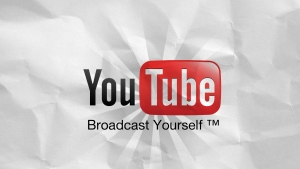 youtube logo slogan portal video