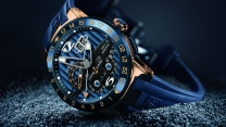 ulysses nardin uhren gürtel blau chronometer