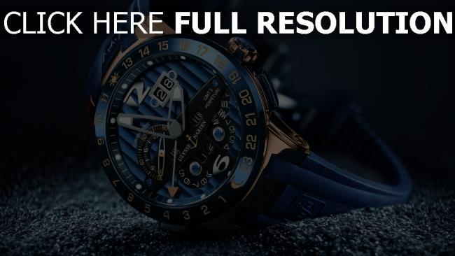 hd hintergrundbilder ulysses nardin uhren gürtel blau chronometer