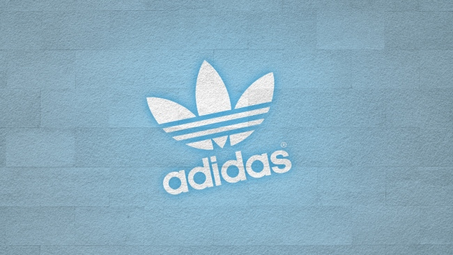 hd hintergrundbilder adidas logo sport hintergrund blau