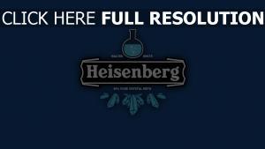 heisenberg logo zeichen trinken