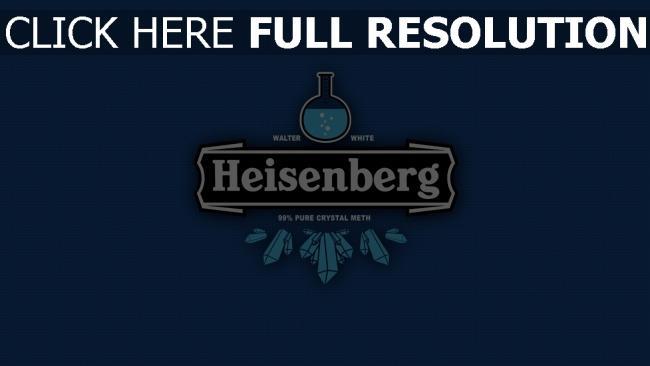 hd hintergrundbilder heisenberg logo zeichen trinken