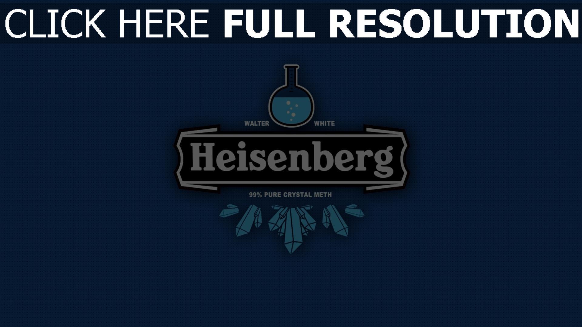 hd hintergrundbilder heisenberg logo zeichen trinken 1920x1080