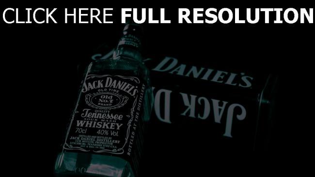 hd hintergrundbilder jack daniels flasche alkohol glas whisky