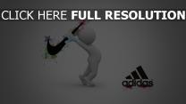 nike adidas konfrontation wettbewerb logos