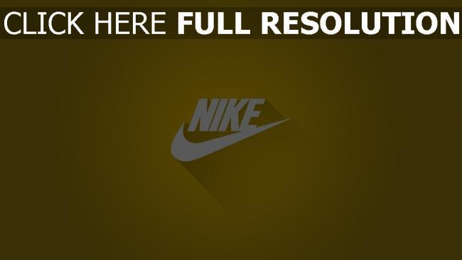 hd hintergrundbilder nike logos grafiken hintergrund gelb