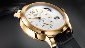 glashutte zifferblatt triple golden uhren