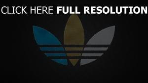 adidas logo stoff nähten unterschiedlich farben