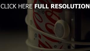coca-cola getränk bank ipod kopfhörer