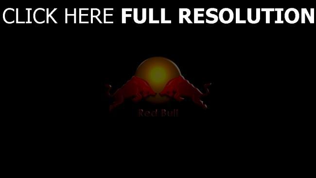 hd hintergrundbilder red bull getränke energie logo stiere