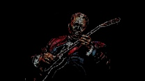 riley bb king b-king musiker blues gitarre