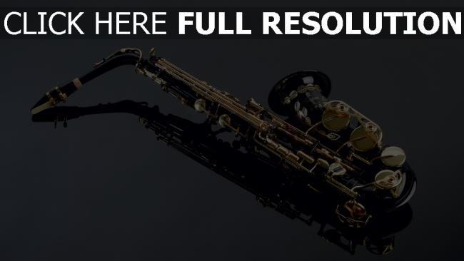 hd hintergrundbilder saxophon instrument jazz