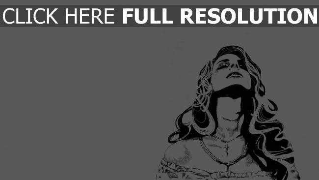 hd hintergrundbilder bild lana del rey grafiken mädchen kreuz