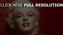 mädchen marilyn monroe blond gesicht lippen