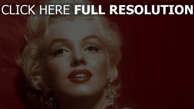 hd hintergrundbilder mädchen marilyn monroe blond gesicht lippen