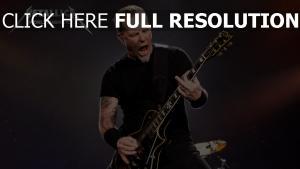 gitarrist metallica aktion emotion tätowierung