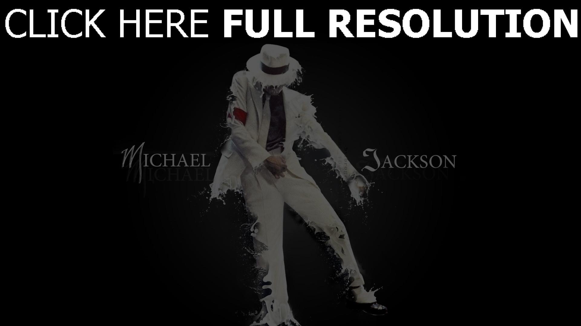 hd hintergrundbilder anzug michael jackson briefe tanz spray 1920x1080