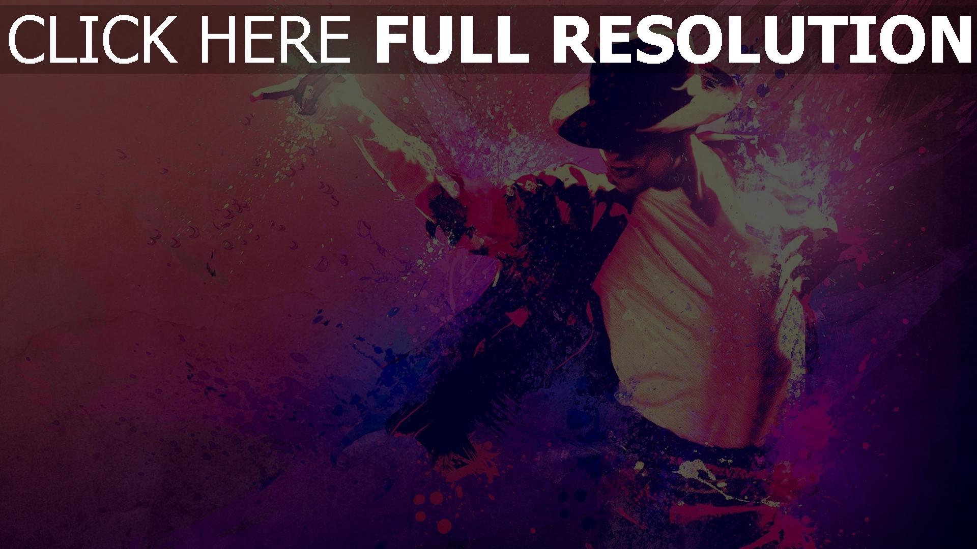 hd hintergrundbilder anzug michael jackson tanz hut farben 1920x1080
