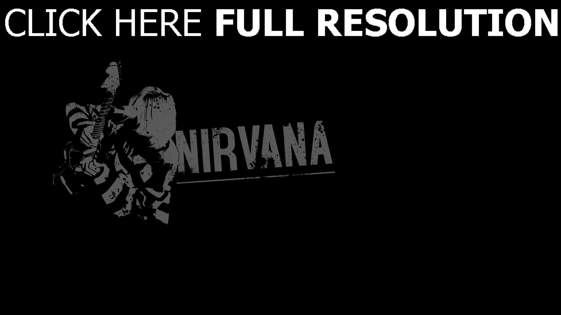 hd hintergrundbilder gitarrist nirvana hintergrund zeichen buchstaben 1920x1080