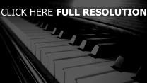 licht klaviertasten holz reflexion