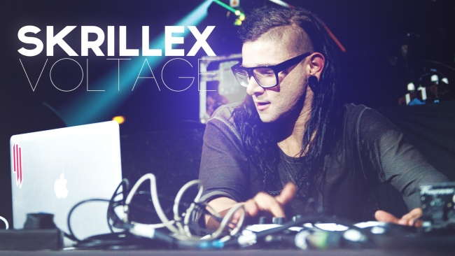 hd hintergrundbilder dj skrillex name show licht