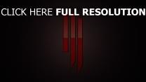 symbol skrillex hintergrund rot licht
