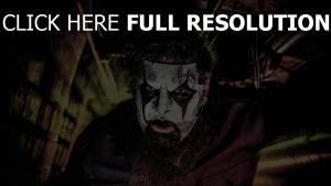 make-up maske slipknot gitarrist james root