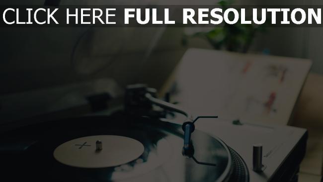 hd hintergrundbilder vinyl plattenspieler platten