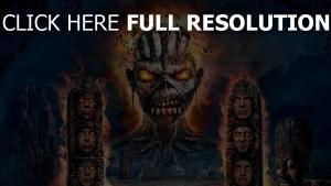 ruinen monster iron maiden
