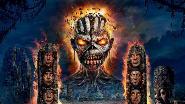 hd hintergrundbilder ruinen monster iron maiden