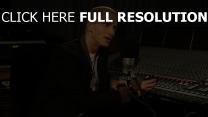 eminem hip-hop rapper studio berühmtheit