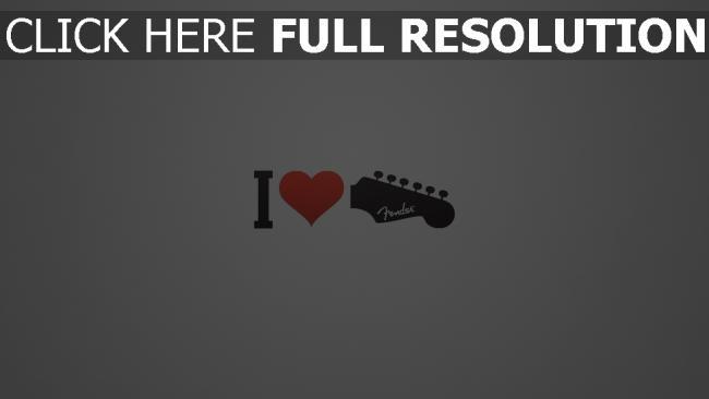 hd hintergrundbilder gitarre liebe musik