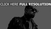 kanye west brille rapper jacke