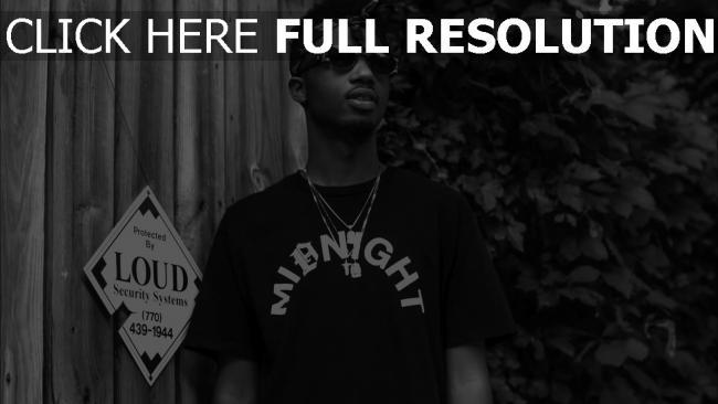 hd hintergrundbilder rapper schwarz-weiß metro boomin produzent
