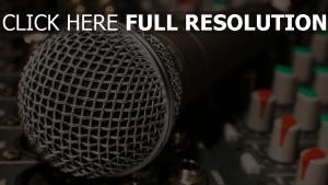 mikrofon kabel mixer