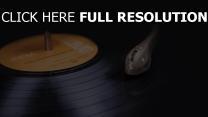 vinyl schallplatte tonarm
