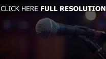 mikrofon musik ton
