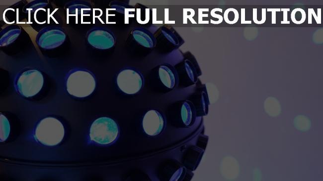 hd hintergrundbilder licht led disco-kugel