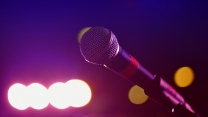 glanz mikrofon rack
