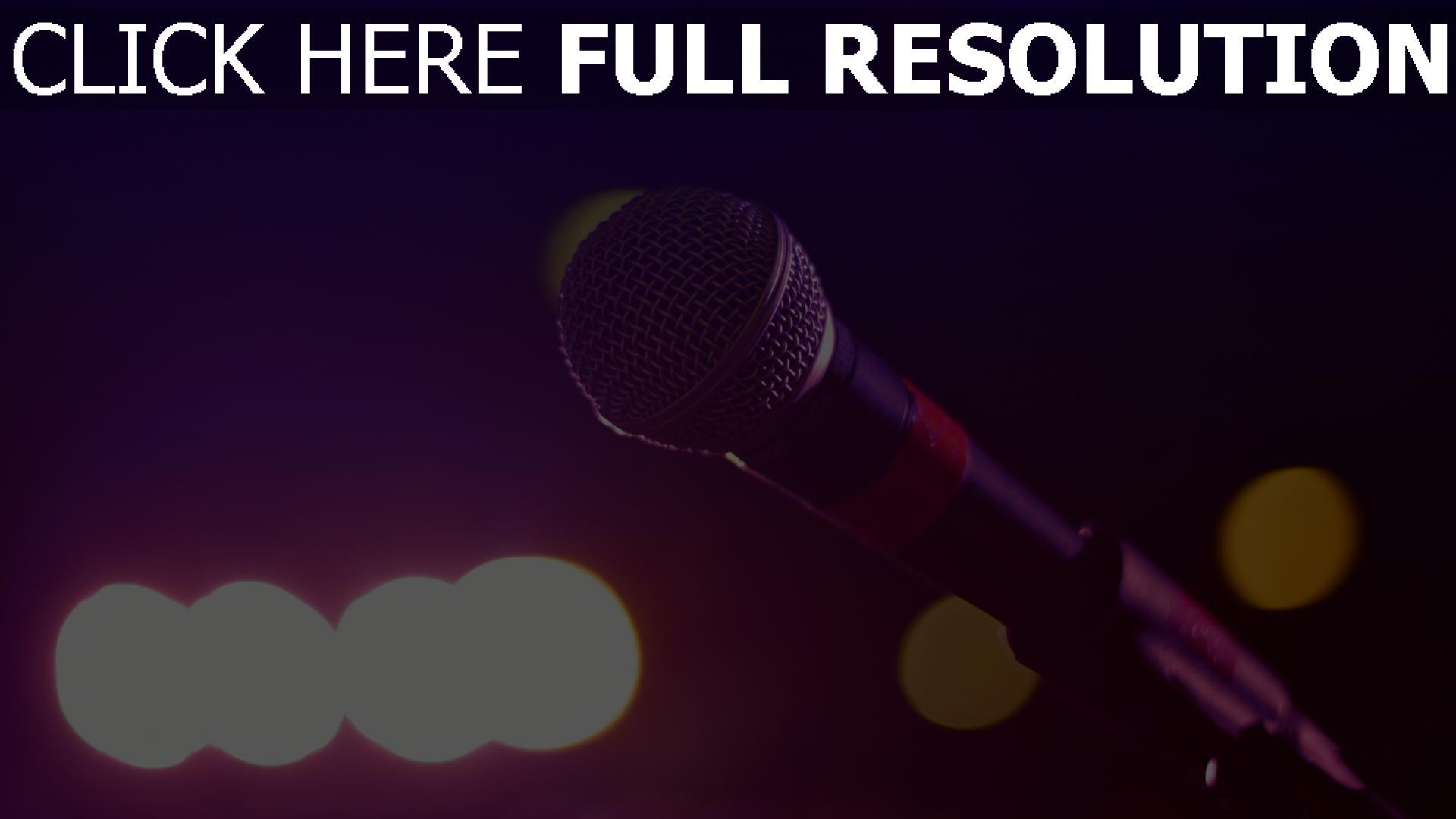 hd hintergrundbilder glanz mikrofon rack 1920x1080