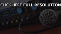 musik verstärker mikrofon