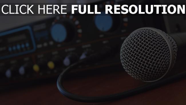 hd hintergrundbilder musik verstärker mikrofon