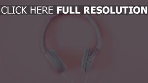 rosa kopfhörer zart