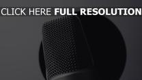 nahaufnahme mikrofon verstärker