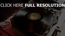 schallplatte musik plattenspieler